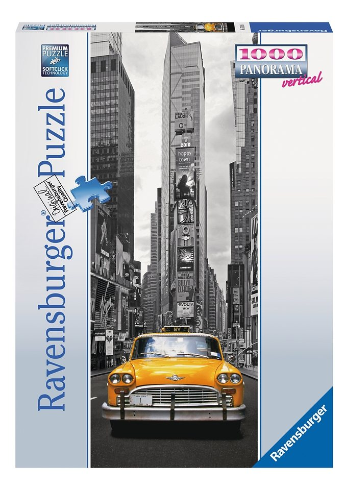 Ravensburger Puzzle 1000 Teile, »New York Taxi«