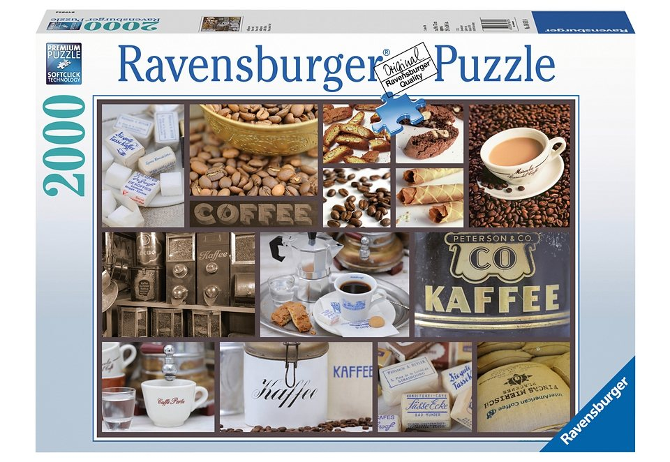 ravensburger puzzle 2000 teile kaffeepause otto. Black Bedroom Furniture Sets. Home Design Ideas