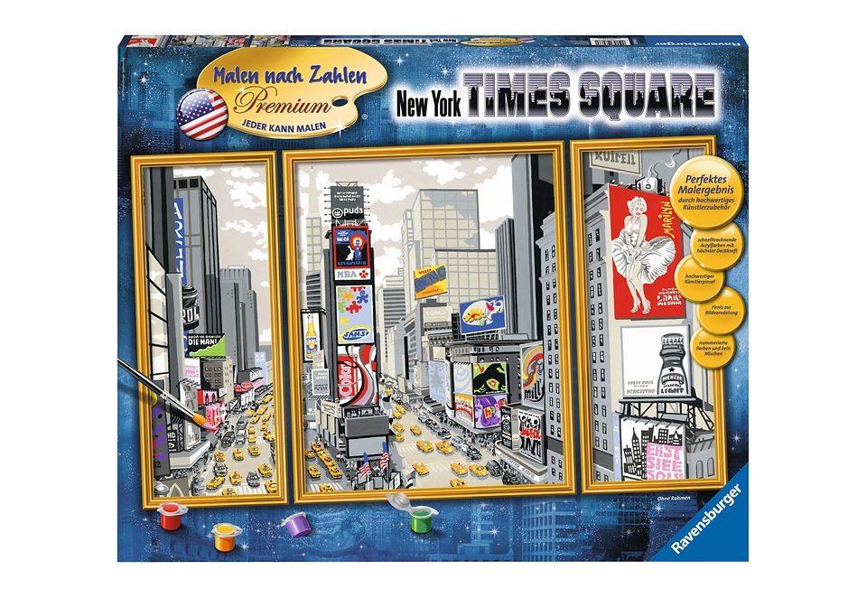Ravensburger Malen nach Zahlen, »York Times Square«