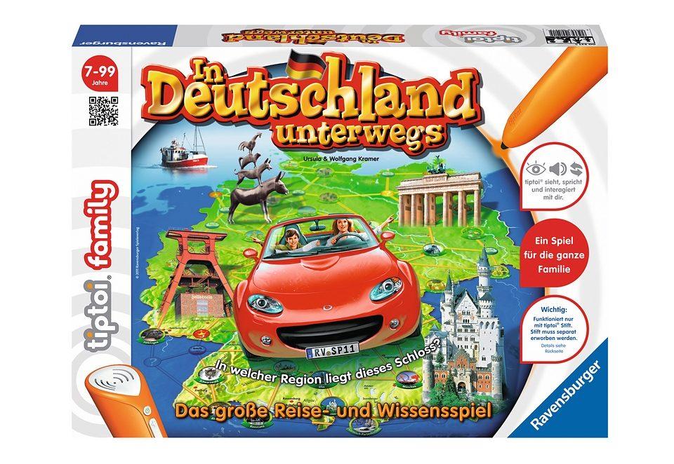 Ravensburger Spiel, tiptoi®, »In Deutschland unterwegs«