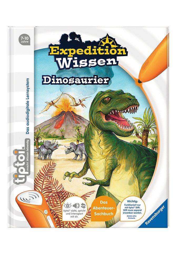 Ravensburger Buch, tiptoi®, »Expedition Wissen - Dinosaurier«