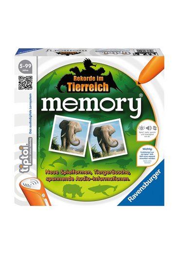 Ravensburger Spiel, »Rekorde im Tierreich memory®«, tiptoi®