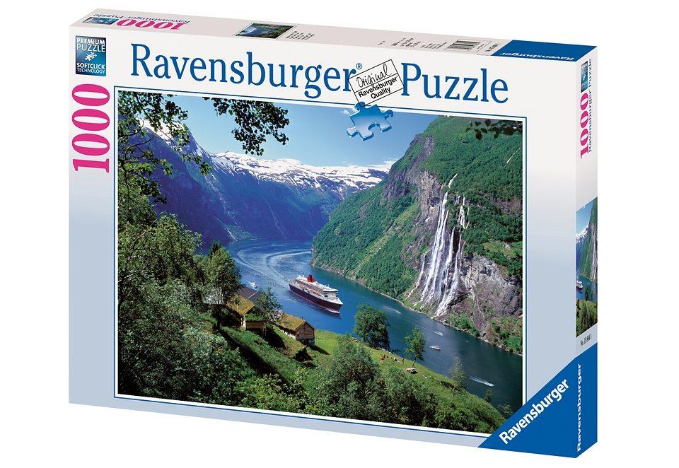 Ravensburger Puzzle 1000 Teile, »Norwegischer Fjord«