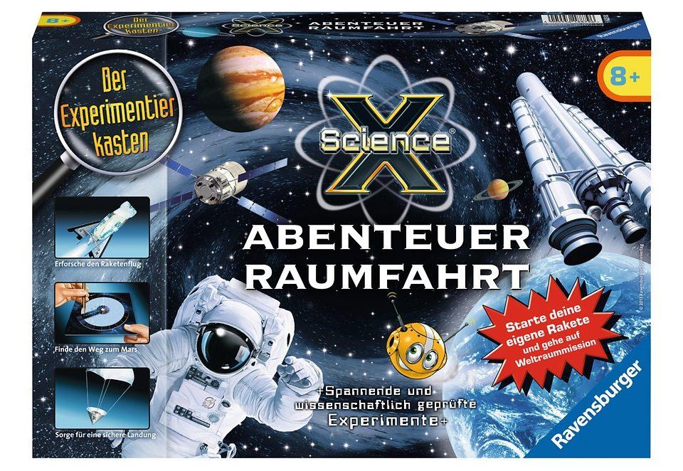 Ravensburger Experimentierkasten, »ScienceX - Abenteuer Raumfahrt«