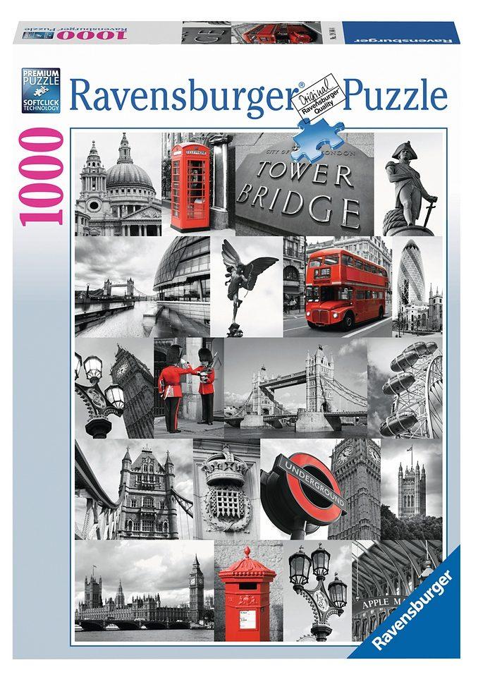 Ravensburger Puzzle 1000 Teile, »London«