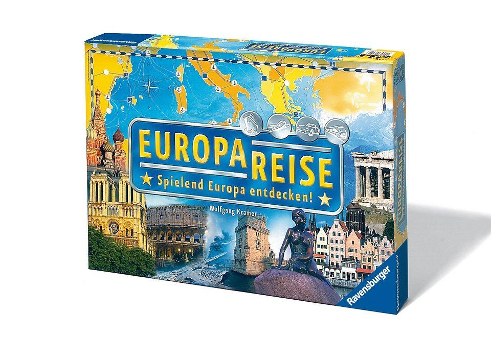 Ravensburger Wettlauf-Spiel, »Europareise«