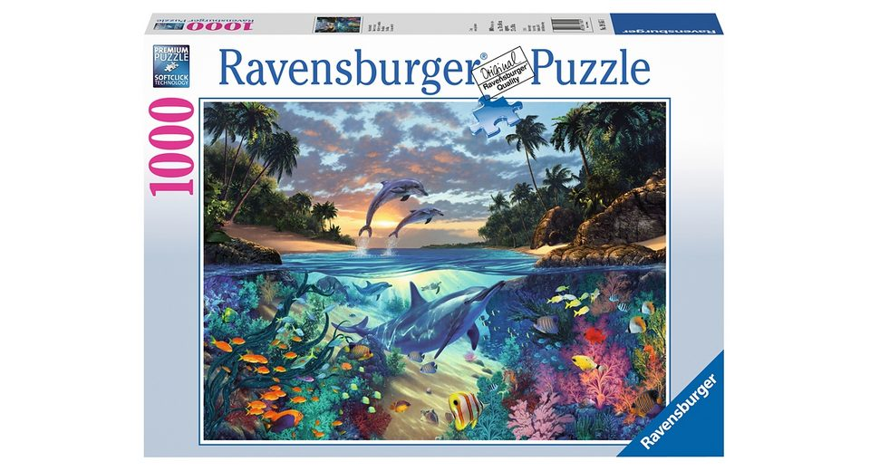 Ravensburger Puzzle 1000 Teile, »Korallenbucht«