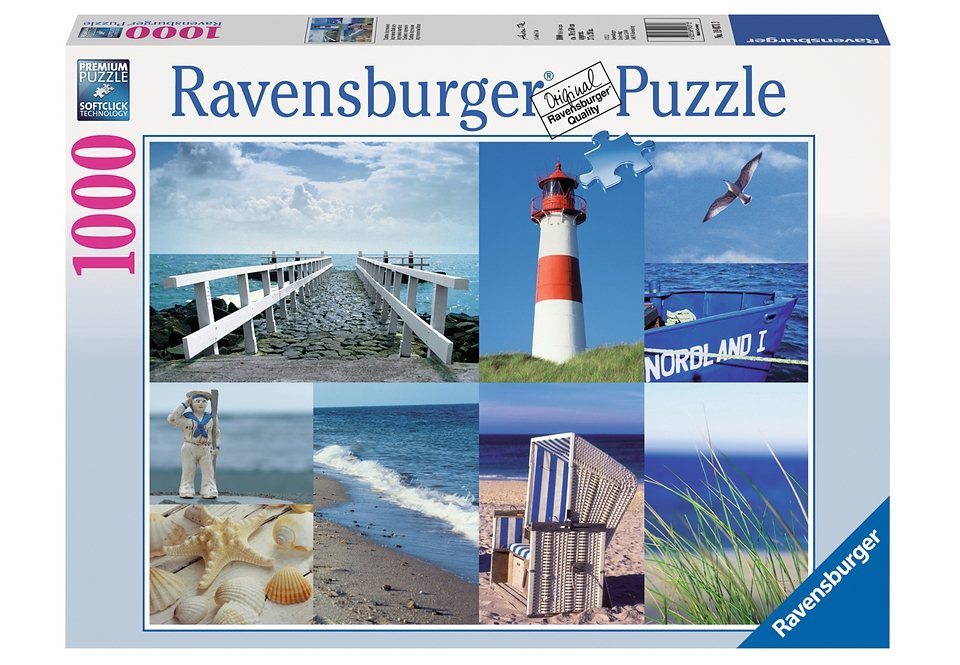Ravensburger Puzzle 1000 Teile, »Maritime Impressionen«