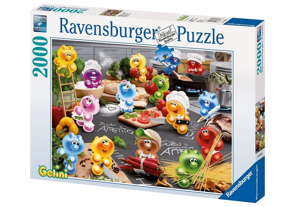 Ravensburger Puzzle 2000 Teile, »Gelini - Küche, Kochen, Leidenschaft«