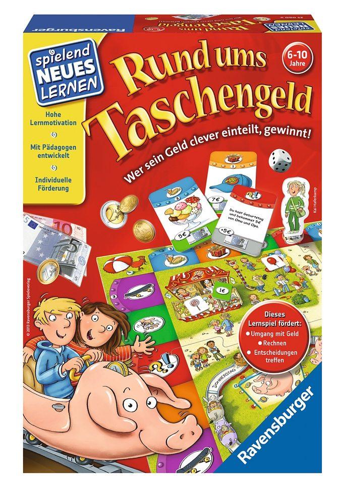 Ravensburger Wettlauf-Spiel, »Rund ums Taschengeld«