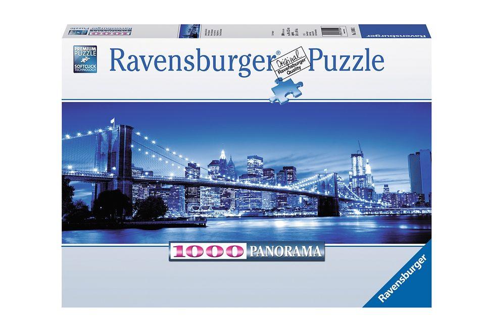 Ravensburger Puzzle 1000 Teile, »Leuchtendes New York«