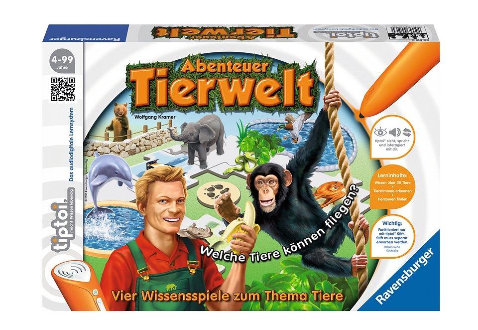 Ravensburger Spiel, tiptoi®, »Abenteuer Tierwelt«