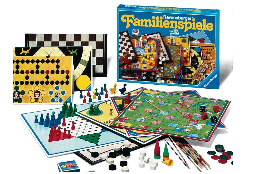 Ravensburger Spielesammlung, »Familienspiele«
