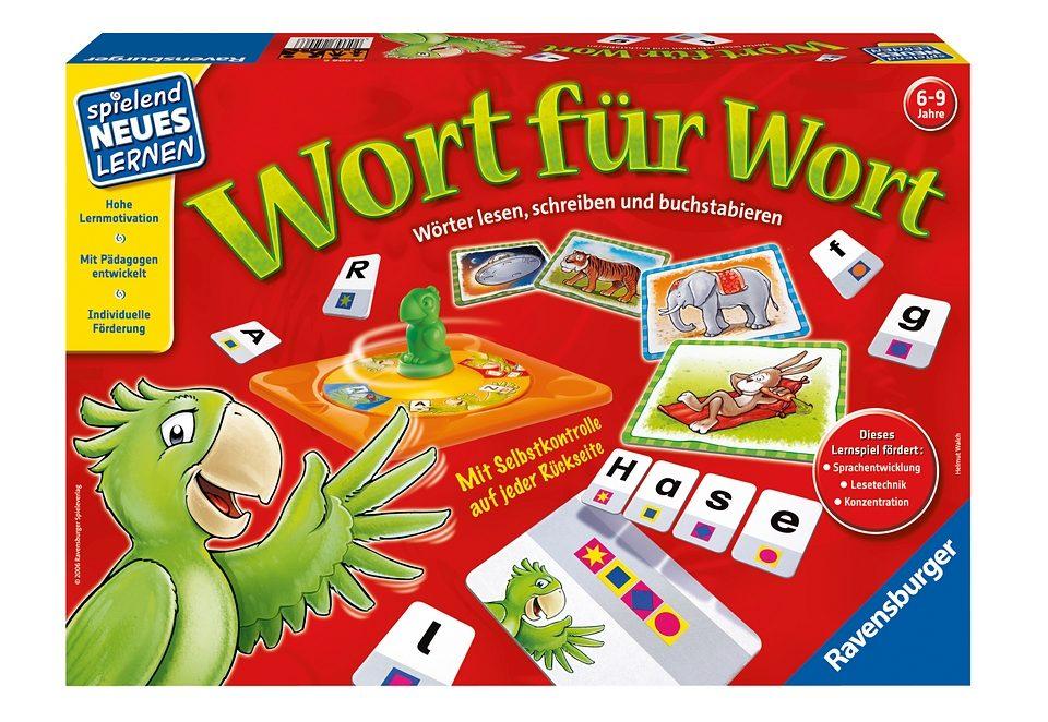 Ravensburger Sammel-Spiel, »Wort für Wort«