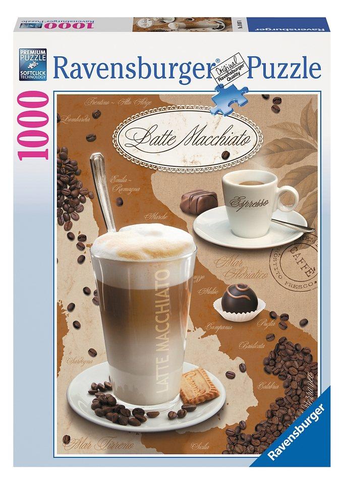 Ravensburger Puzzle 1000 Teile, »Latte Macchiato«