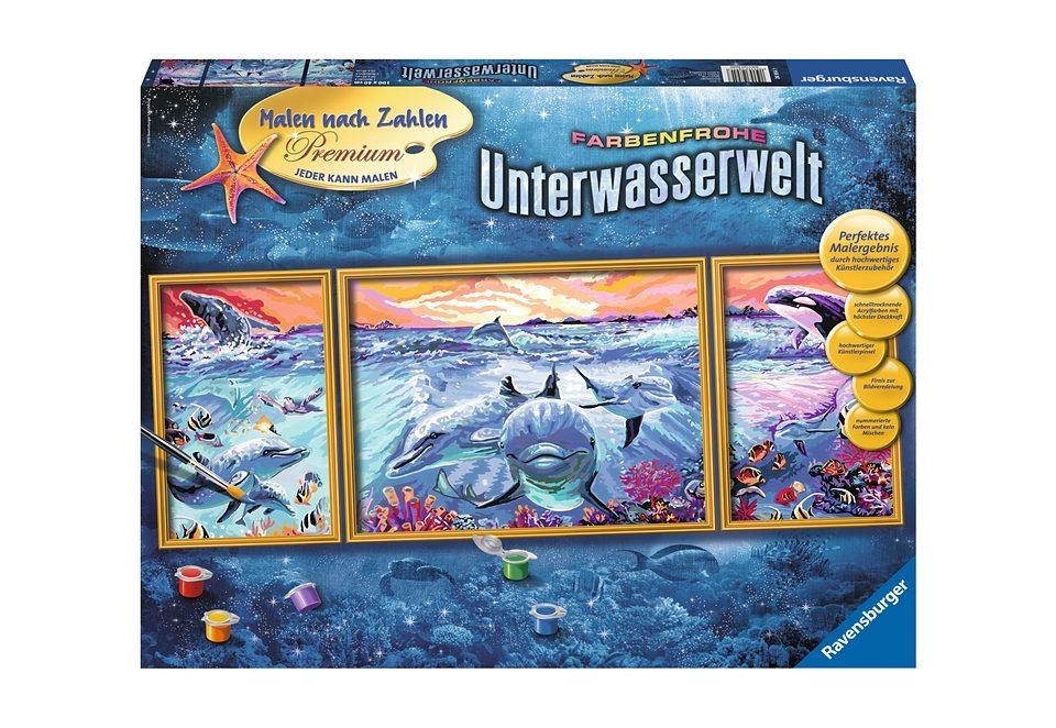 Ravensburger Malen nach Zahlen, »Farbenfrohe Unterwasserwelt«