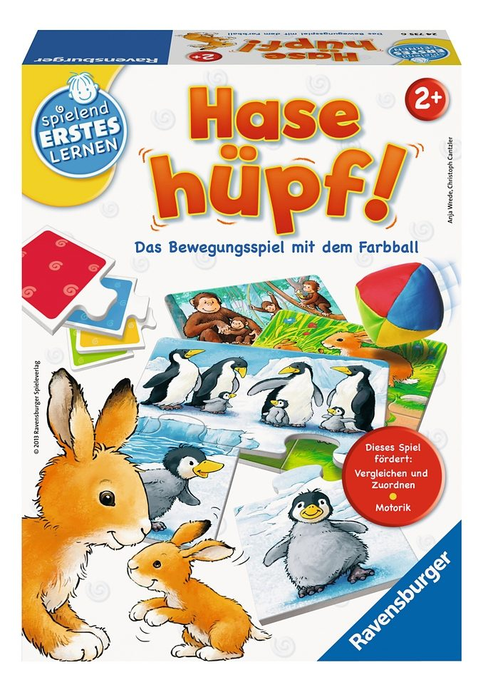 Ravensburger Puzzle-Spiel, »Hase hüpf!«