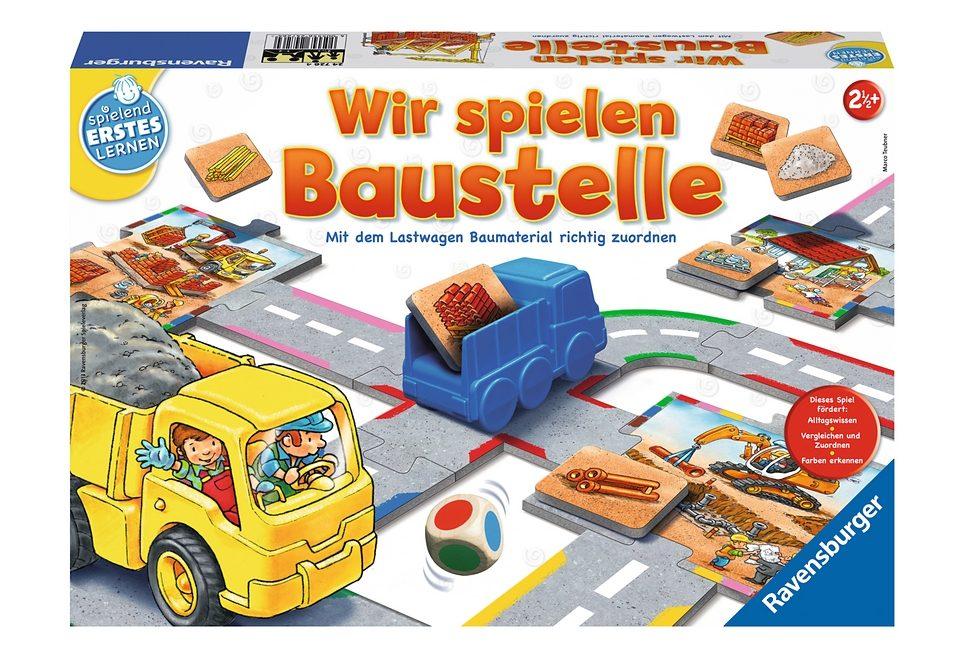 Ravensburger Spiel, »Wir spielen Baustelle«