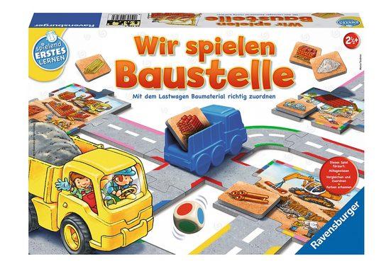 Ravensburger Spiel, »Wir spielen Baustelle«, Made in Europe, FSC® - schützt Wald - weltweit