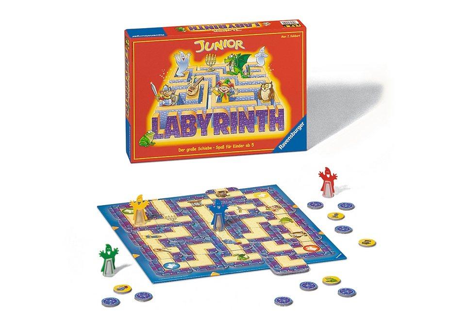 Ravensburger Familienspiel, »Junior Labyrinth«