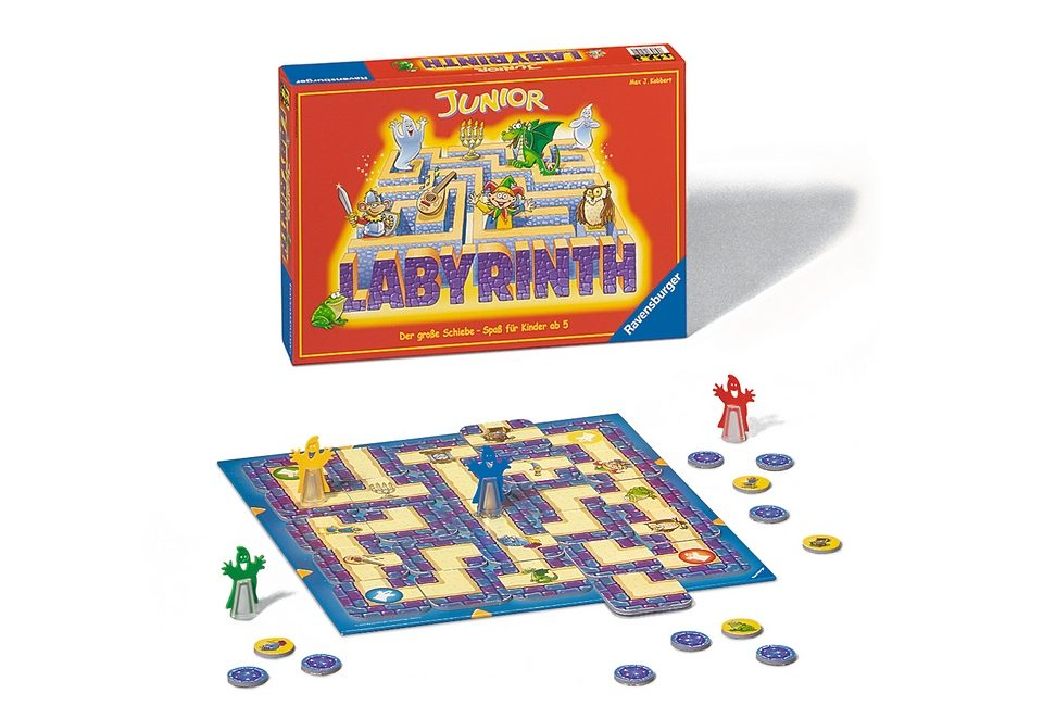Ravensburger Familienspiel, »Junior Labyrinth«