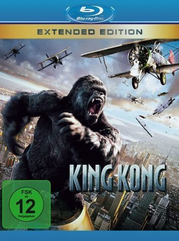 Blu-ray »King Kong (Kino- + Extended Version)«
