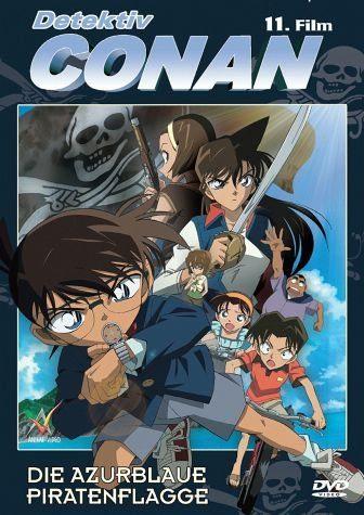 DVD »Detektiv Conan - Die azurblaue Piratenflagge«