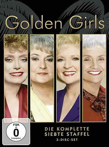 DVD »Golden Girls - Die komplette siebte Staffel (3...«