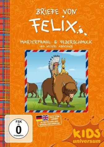 DVD »Briefe von Felix: Marterpfahl & Federschmuck...«