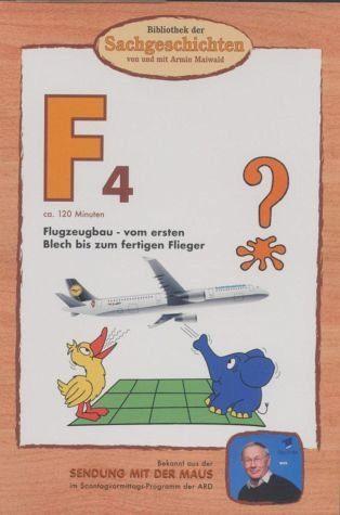 DVD »Bibliothek der Sachgeschichten - (F4) Flugzeugbau«