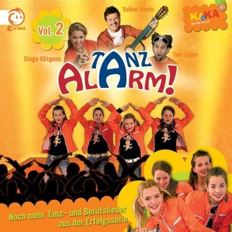 Audio CD »Volker Rosin: Ki.Ka Tanzalarm! 2«