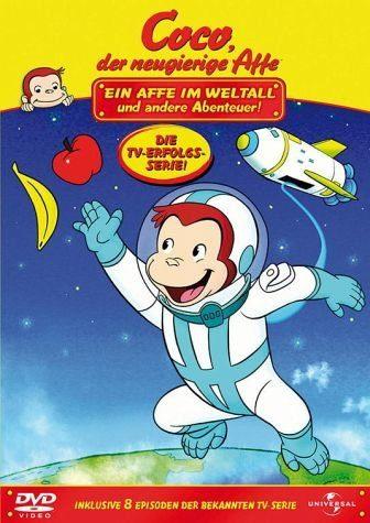 DVD »Coco, der neugierige Affe - Ein Affe im...«