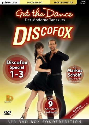 DVD »Get the Dance - 3er-Box Discofox DVD-Box«