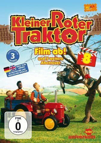 DVD »Kleiner roter Traktor 08 - Film ab! und 5...«