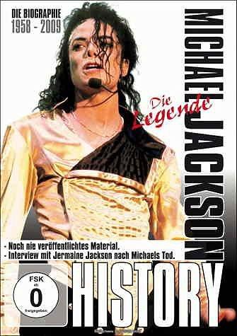 DVD »Michael Jackson - History: Die Legende«