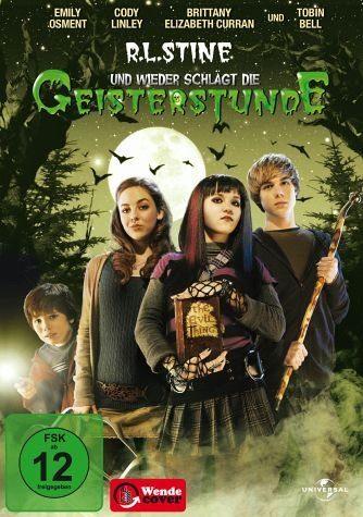 DVD »R.L. Stines Und wieder schlägt die Geisterstunde«