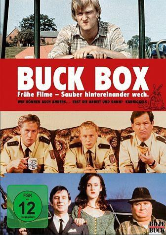 DVD »Buck Box: Frühe Filme - Sauber hintereinander...«