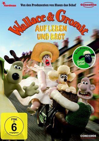 DVD »Wallace & Gromit, Auf Leben und Brot (DVD)«