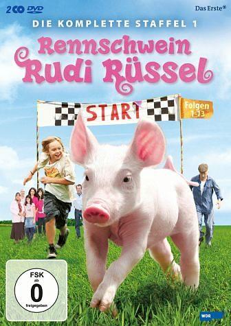 DVD »Rennschwein Rudi Rüssel - Die komplette...«