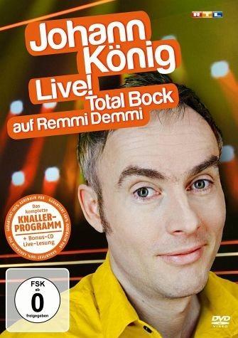 DVD »Johann König Live! - Total Bock auf Remmi...«