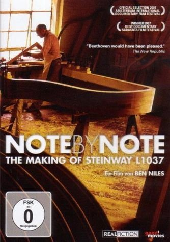 DVD »Note by Note - The Making of Steinway (OmU)«