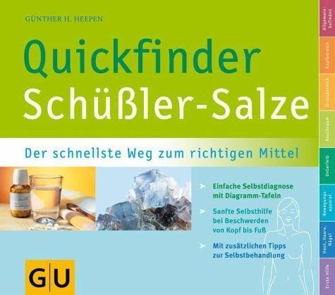 Broschiertes Buch »Quickfinder Schüßler-Salze«