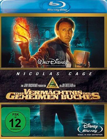 Blu-ray »Das Vermächtnis des geheimen Buches, 1 Blu-ray...«