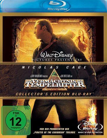 Blu-ray »Das Vermächtnis der Tempelritter, 1 Blu-ray Disc«