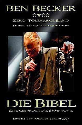 DVD »Ben Becker - Die Bibel: Eine gesprochene...«