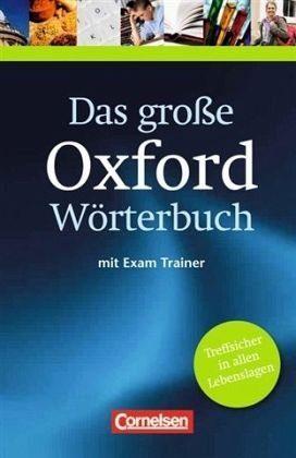 Gebundenes Buch »Das große Oxford Wörterbuch Englisch-Deutsch,...«
