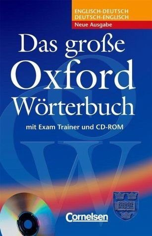 Gebundenes Buch »Das große Oxford Wörterbuch. Inkl. CD-ROM«
