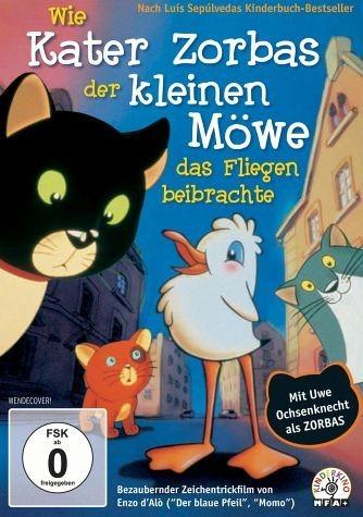 DVD »Wie Kater Zorbas der kleinen Möwe Lucky das...«