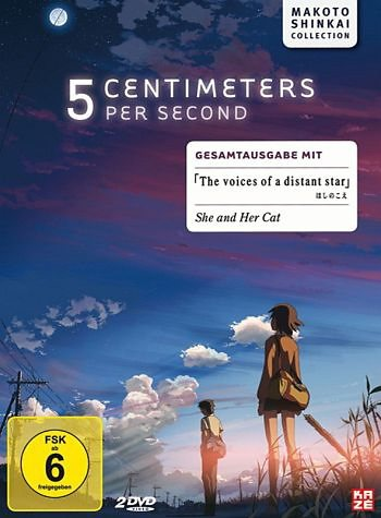 DVD »5 Centimeters Per Second / The Voices of a...«