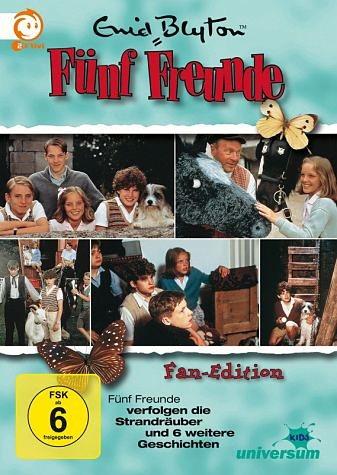 DVD »Enid Blyton - Fünf Freunde verfolgen die...«